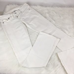 True Religion White Becky Jeans